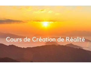 Cours de Création de Réalité – Janvier à Mai 2019