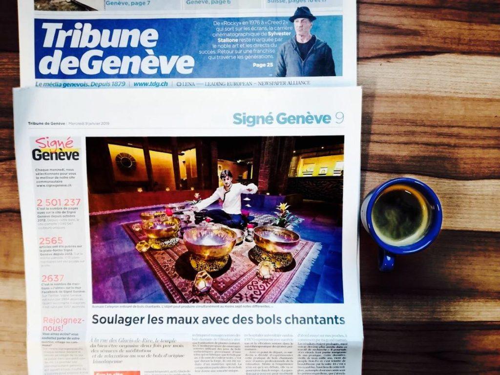 La Tribune de Genève - 9 janvier 2019