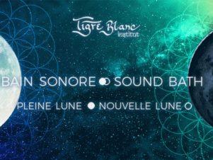 CONCERTS – BAINS SONORES ○ NOUVELLE LUNE ● PLEINE LUNE – OCTOBRE 2021